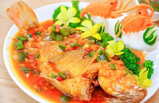 Cá Diêu Hồng Sốt Chua Cay