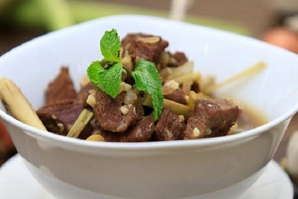 Thịt Bò Kho Gừng