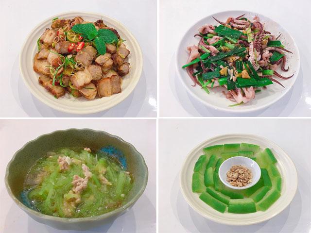 Thực đơn Món ăn Trưa Ngon, đơn Giản, Dễ Làm Tại Nhà