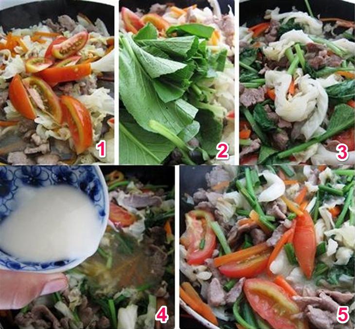 Cach Lam Mi Xao Gion