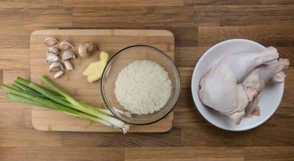 Nguyên Liệu Nấu Cơm Gà