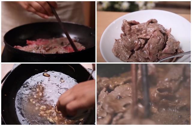 Thịt Bò Sốt Tiêu đen