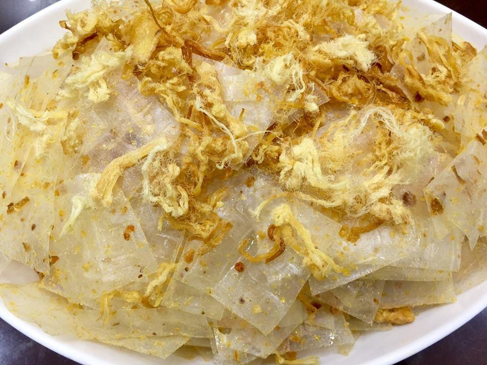 Bánh Tráng Chà Bông