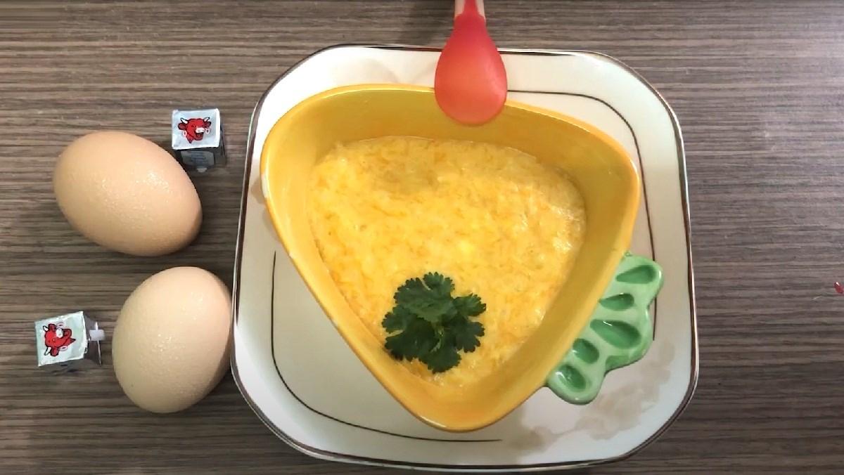 Cháo Bí đỏ Trứng Gà Phô Mai