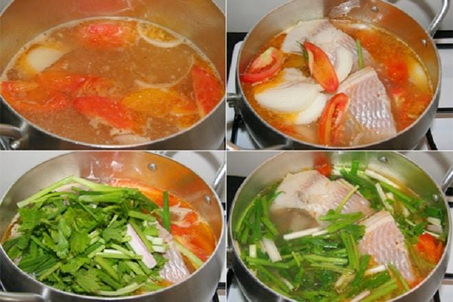 Nấu Cá Diêu Hồng