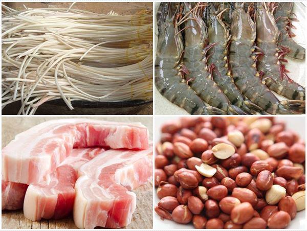 Nguyên Liệu Gỏi Ngó Sen Tôm Thịt