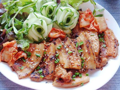Thành Phẩm Thịt Ba Chỉ Nướng Hàn Quốc