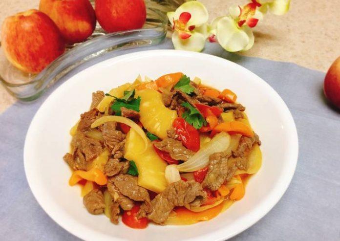 Cách Làm Thịt Bò Xào Dứa Chua Ngọt Hấp Dẫn, đưa Cơm