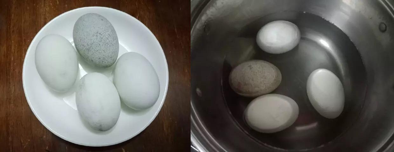 Rửa Và Luộc Trứng Muối