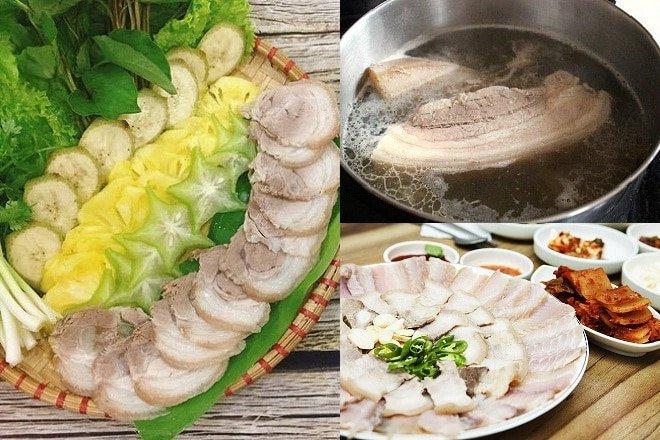 Thịt Luộc Và Bí Quyết Luộc Thịt Chín Ngọt, Trắng Giòn, Thơm Lừng