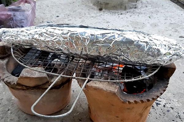 Cá Lóc Nướng Giấy Bác Daotaobeptruong
