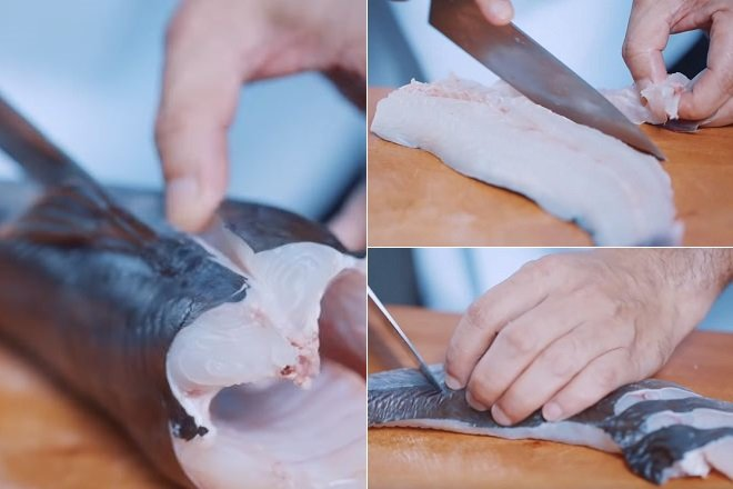 Sơ Chế Cá Lăng